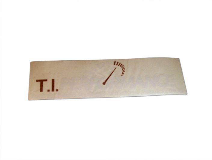 T.I. Performance Sticker