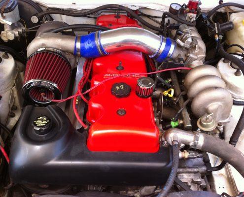 Turbo XH Ute engine bay