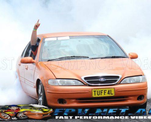 TUFF4L Burnout Car