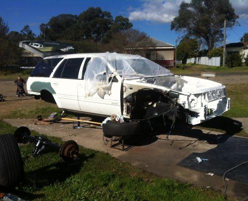 EF Wagon Stripped Respray