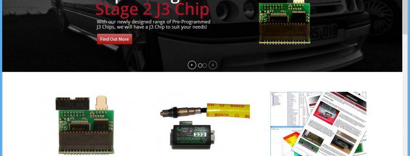 New website launch screenshot