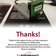 T.I. Performance sells 1000th J3 Chip!