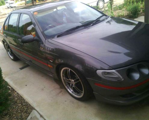 Lukes EF XR6 Car