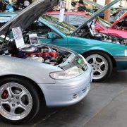 Supercharged EF Fairmont & EB Fairmont at Sandown V8 Supercars