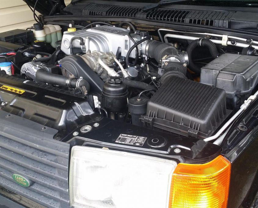 Land Rover 5.0L EFI Windsor V8 converison