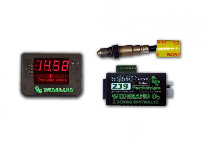 TechEdge 2J9 LD02 Wideband O2 Controller and LED Display Kit