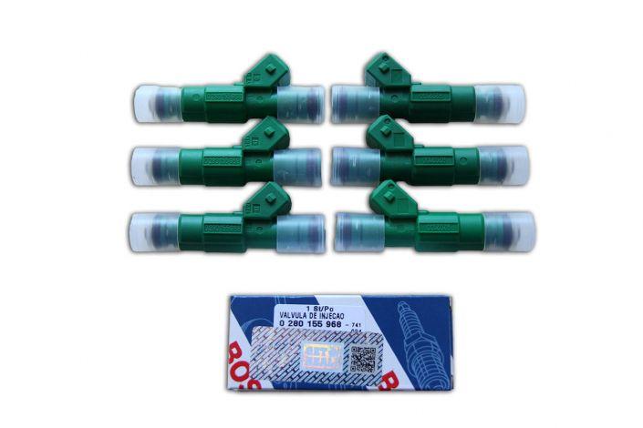 Bosch 42lb 440cc 968 Green Fuel Injectors