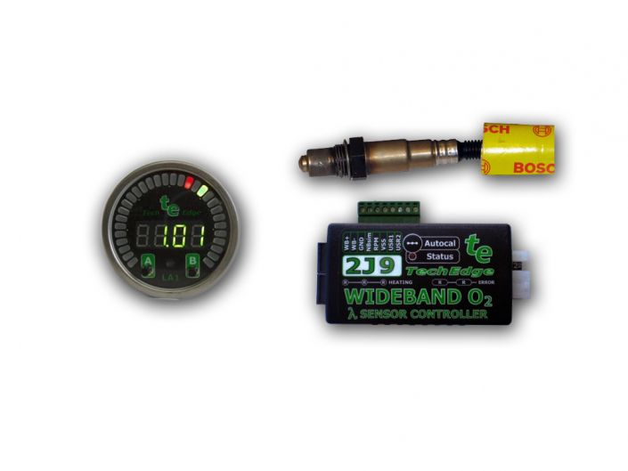 TechEdge 2J9 Wideband O2 Controller & Gauge Kit