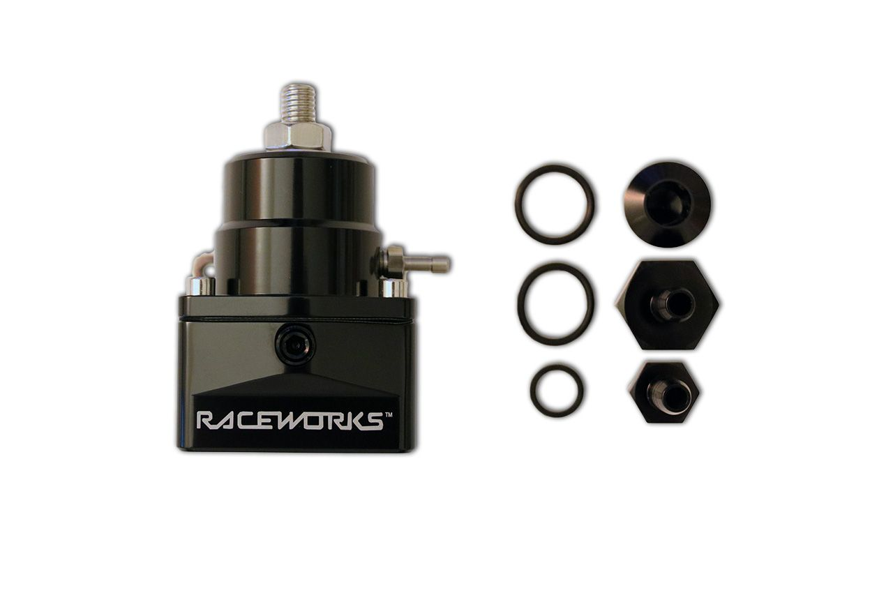 TC091 - Kit Raceworks Fuel Pressure Regulator + fittings suit EA-FG Falcon