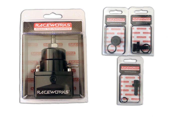 TC091 - Kit Raceworks Fuel Pressure Regulator + fittings suit EA-FG Falcon