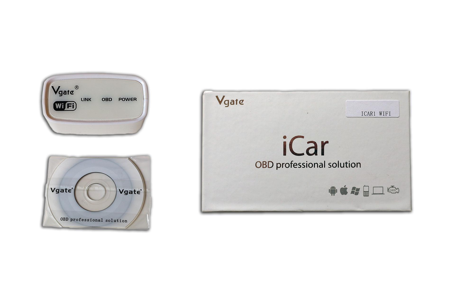 Vgate iCar OBD2 WiFi scan tool / code reader