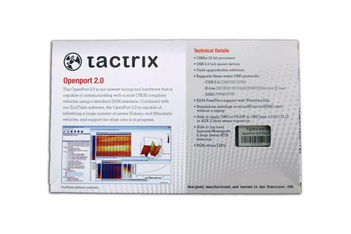 Tactrix Openport 2.0 PCMTec ECUFlash