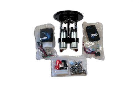 Raceworks 2.8 litre twin pump surge tank kit with Walbro 255 Pumps