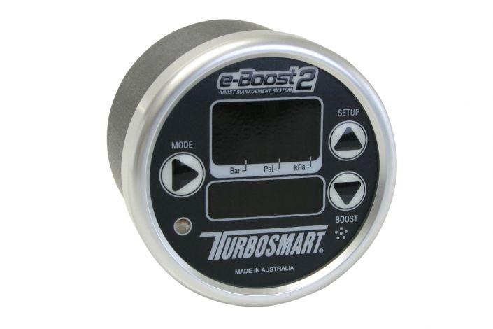 Turbosmart e-Boost2 60psi 60mm Black Silver