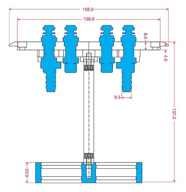 Twin Fuel Pump EFI Conversion Kit