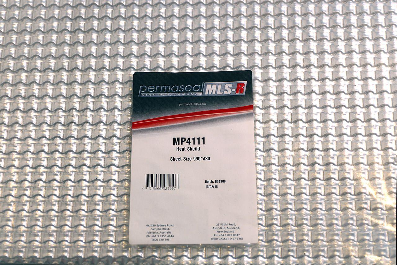 Permaseal Corrugated Heat Shield Material 2