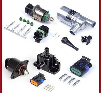 engine sensors throttle idle control